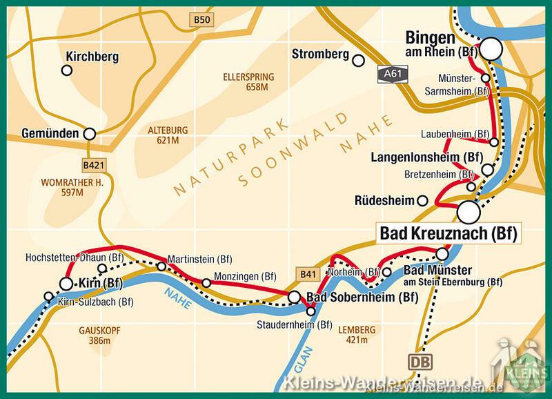 Lechweg Karte.Hiking Nahe Hiking On The Wine Hiking Trail Hiking Tour Nahe Book