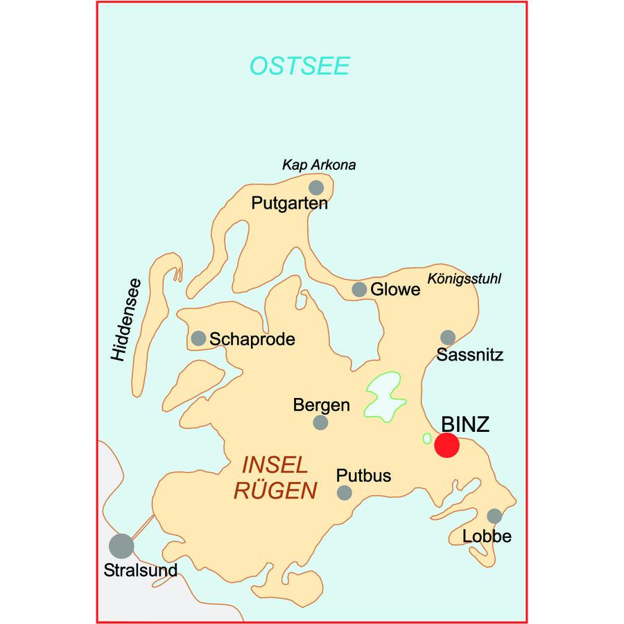 Anreise Zur Insel Wangerooge Mit Dem Auto Pkw: Wandern Rügen Wanderreise Rügen Wandern Kap Arkona